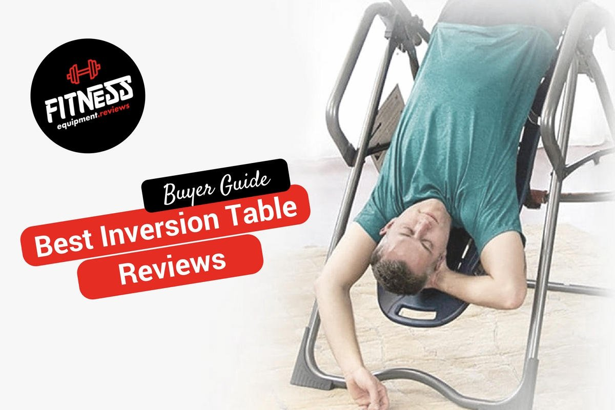 man on an inversion table