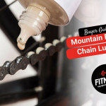 bike lube on a chain