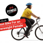 overweight female riding a bike