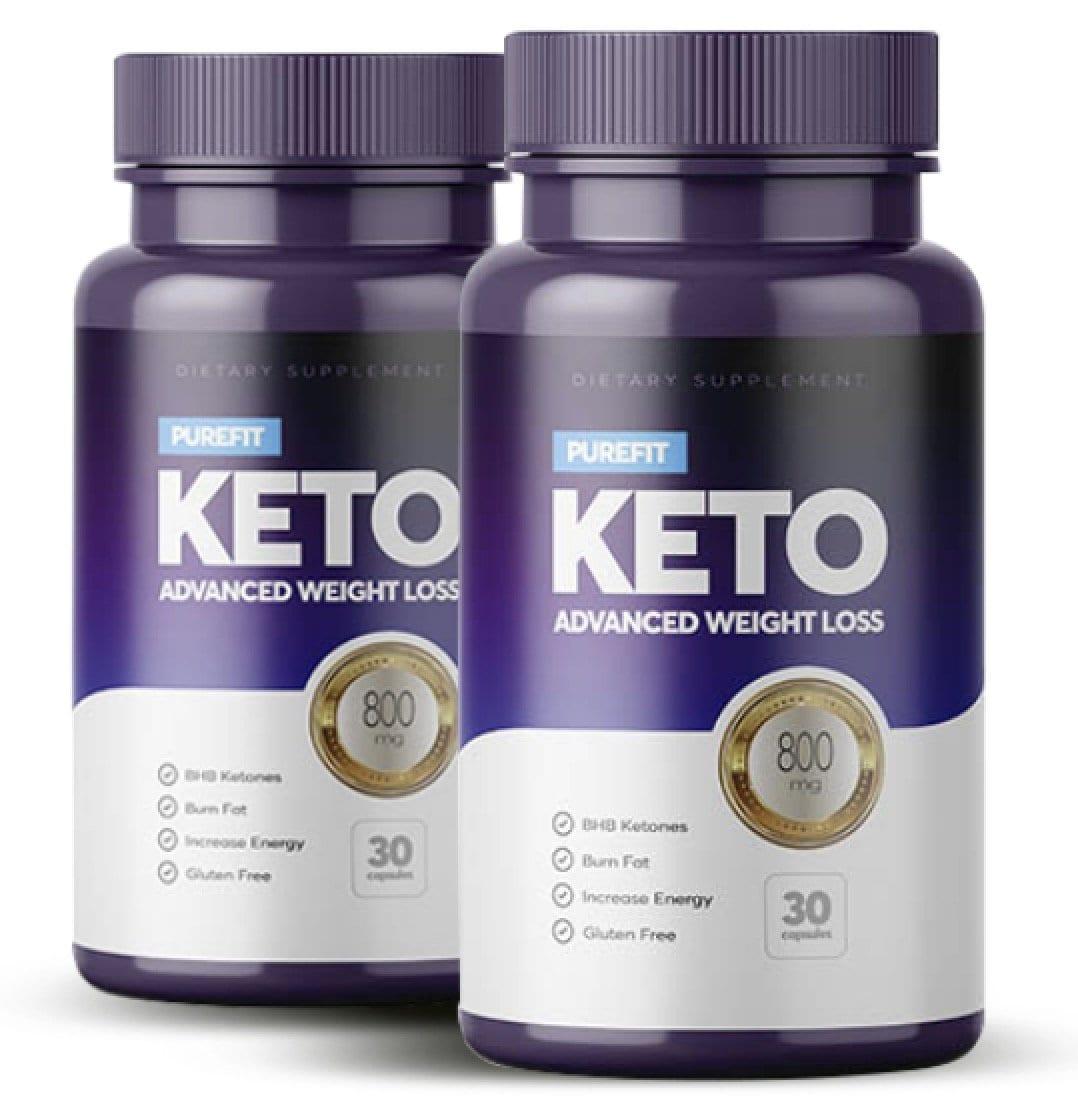 2 bottles of purefit keto