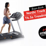 Man running on a Nordic Track T6.5s Treadmill