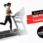 Woman running on a Sole F63 Treadmill