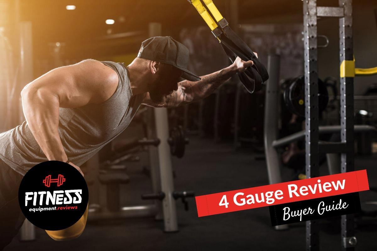 4 gauge review - muscular male in the gym