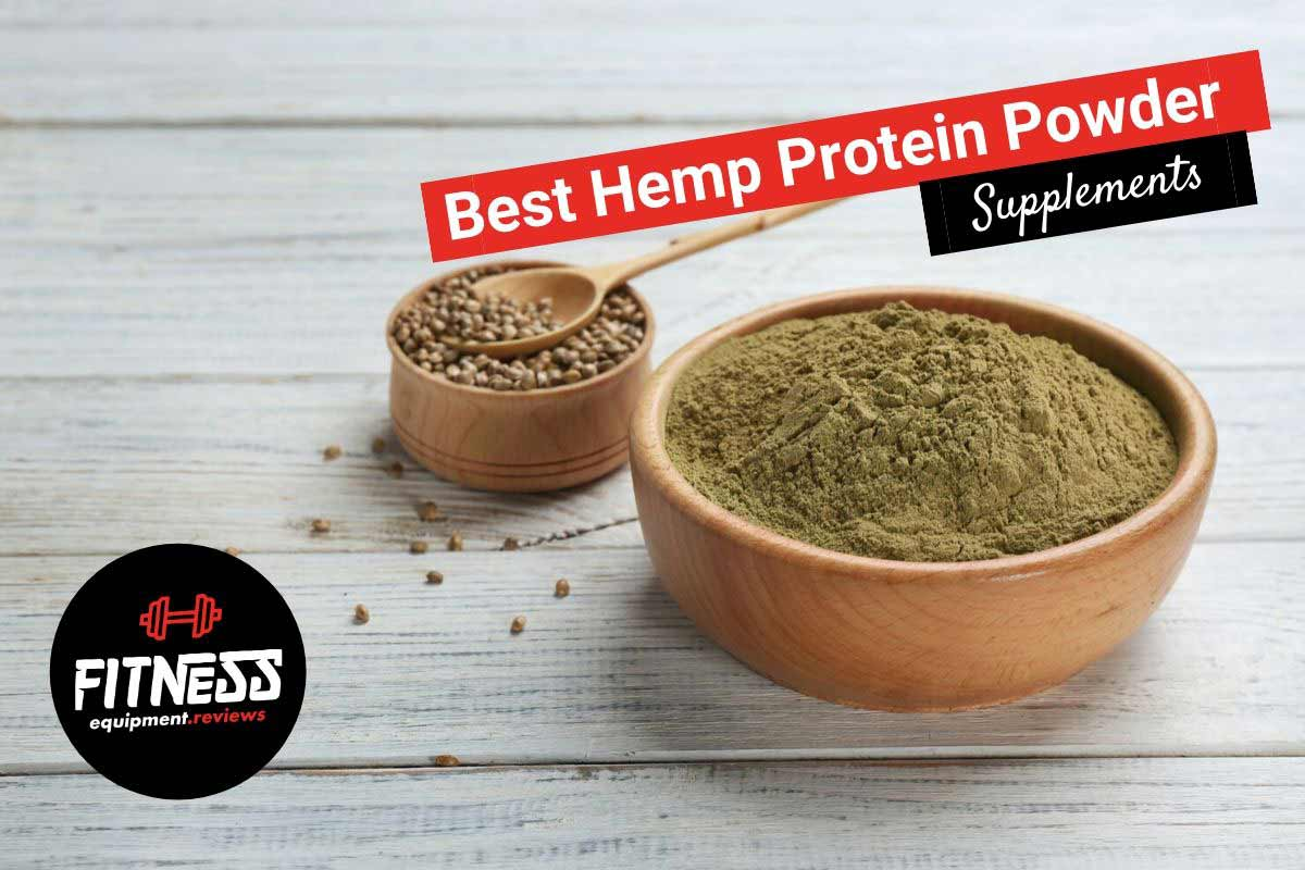 bowl of hemp protein on the counter