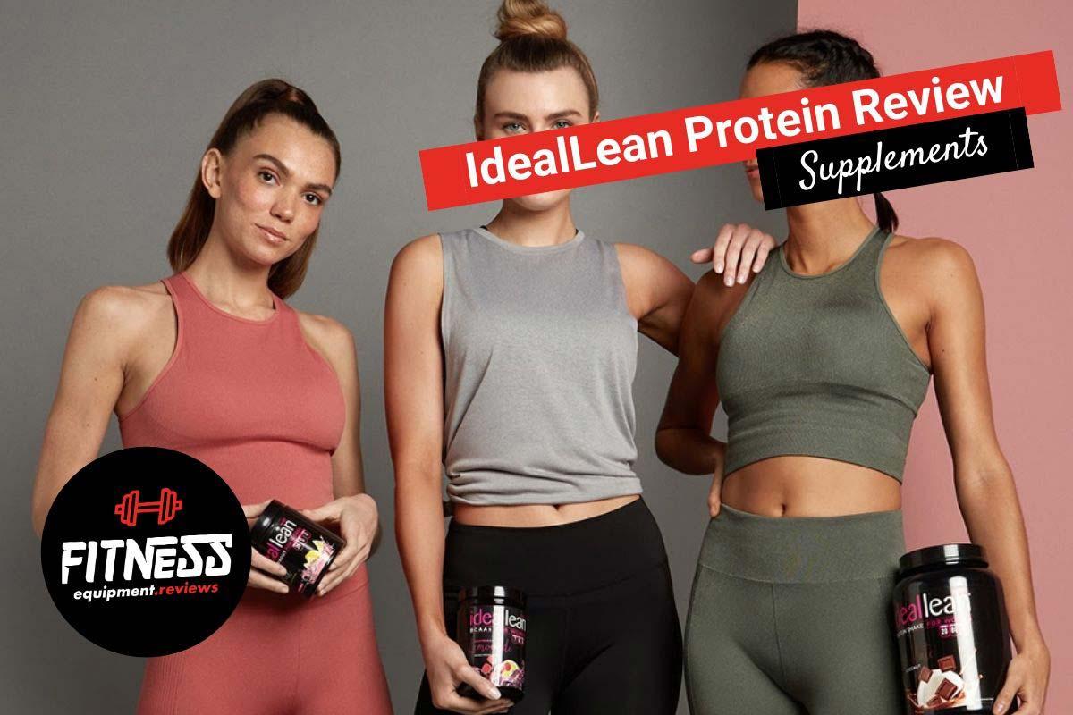 3 women holding ideallean protein