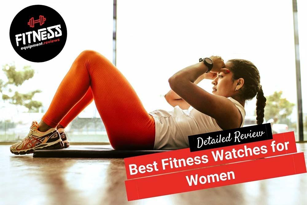 woman doing a crunch, wearing a fitness watch
