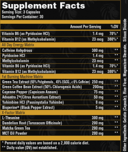 Alpha-Lion-Alpha-Shredder-Ingredients