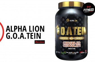 Alpha Lion G.O.A.TEIN (Protein) - Fitness Equipment Reviews
