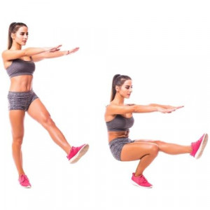 How to do a pistol squat