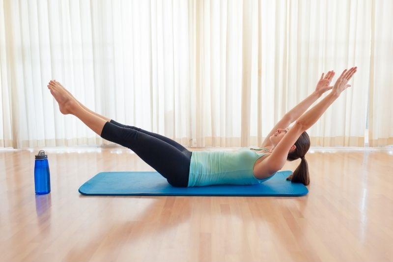 V-Up exercise