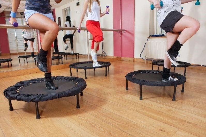 Rebounder Trampoline workouts