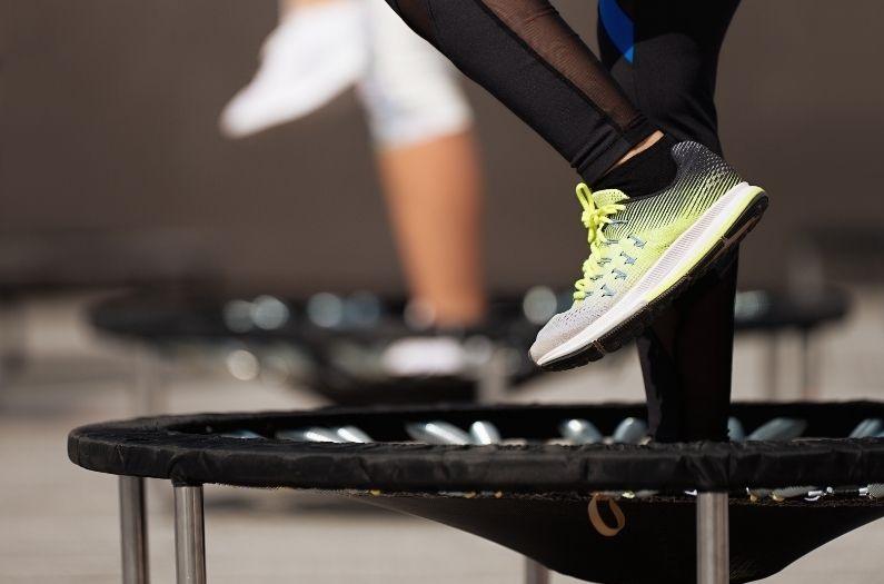 Rebounder medley workout