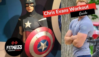 Chris Evans Captain America Workout
